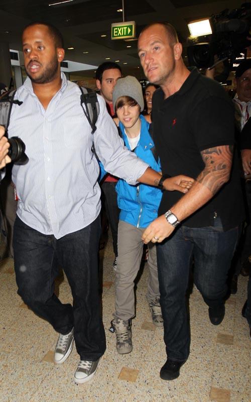 Justin Bieber Sydney Arrival 8
