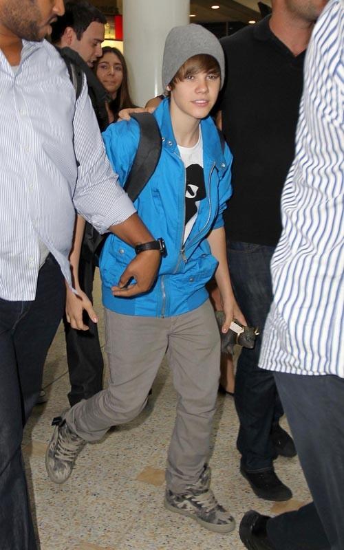 Justin Bieber Sydney Arrival 6
