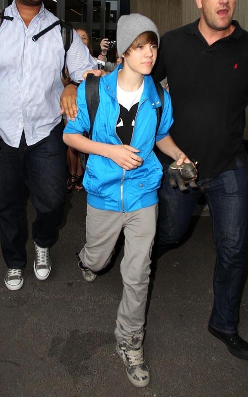 Justin Bieber Sydney Arrival 5