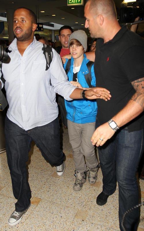 Justin Bieber Sydney Arrival 4